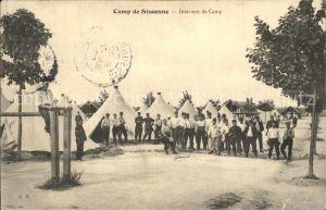 Camp de Sissonne Interieur de Camp