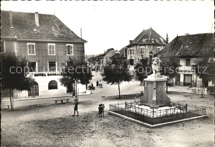 Les Avenieres Place du Ciers Monument Statue Kat. Les Avenieres