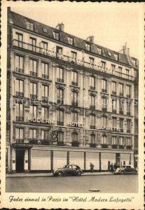 Paris Hotel Modern Lafayette Kat. Paris
