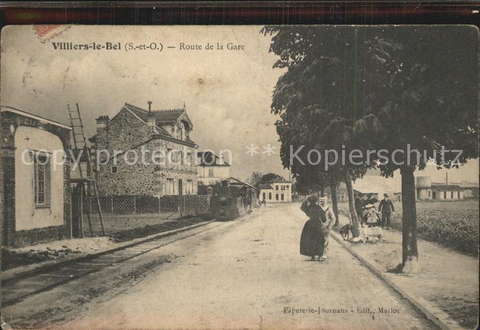 Villiers le Bel Route de la Gare Kat. Villiers le Bel