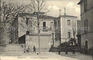 Lodeve La Sous Prefecture Kat. Lodeve