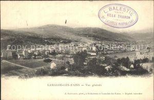 Lamalou les Bains Gesamtansicht  Kat. Lamalou les Bains