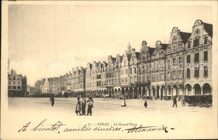 Arras Pas de Calais La Grand Place Kat. Arras