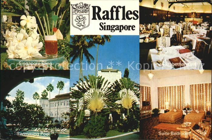 Alte postkarte cuxhafen cuxhaven strandleben bei badeanstalten bathing suite hut hat chapeau for Raffles hotel singapore swimming pool