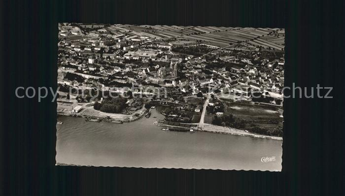 Breisach Rhein Fliegeraufnahme Kat. Breisach am Rhein