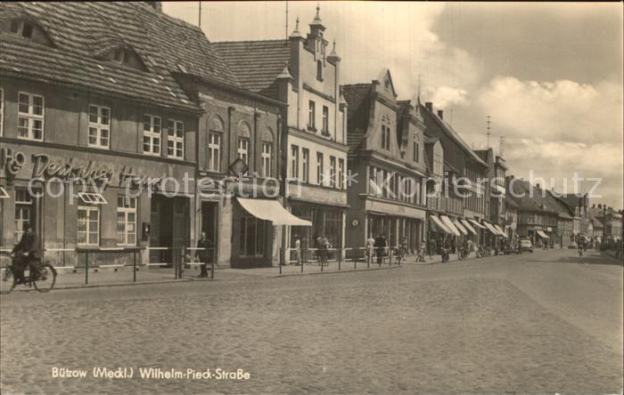 Buetzow Wilhelm Pieck Strasse  Kat. Buetzow