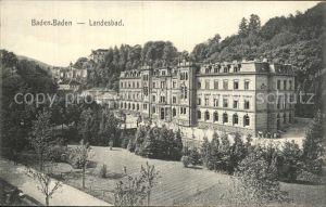 Baden Baden Landesbad Kat. Baden Baden