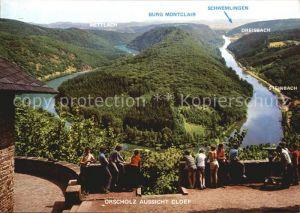 Orscholz Saarschleife Aussichtspunkt CLOEF  Kat. Mettlach