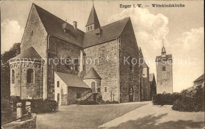 Enger Wittekindskirche Kat. Enger