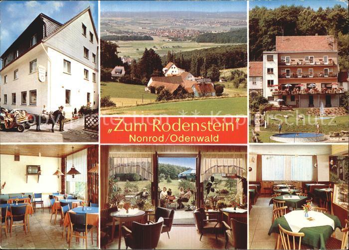 Nonrod Gasthaus Zum Rodenstein  Kat. Fischbachtal