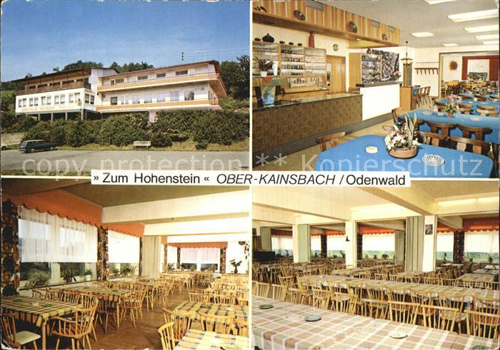 Ober Kainsbach ober kainsbach gasthaus zum hohenstein reichelsheim odenwald