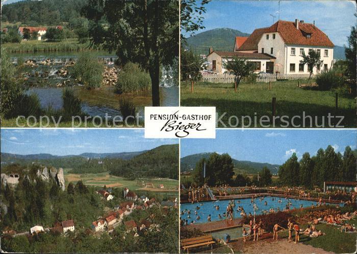 Ebermannstadt Gasthof Bieger  Kat. Ebermannstadt