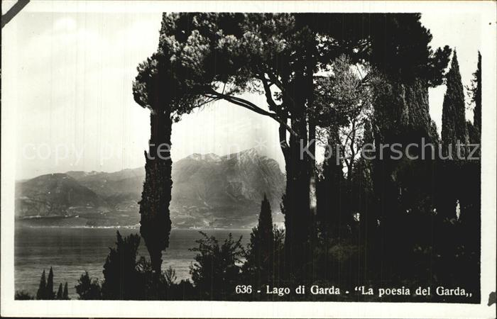 Gardasee Lago di Garda La Poesia del Garda Kat. Italien
