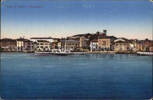 Desenzano Lago di Garda Teilansicht  Kat. Desenzano del Garda