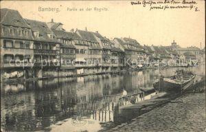 Bamberg Partie an der Regnitz Kat. Bamberg