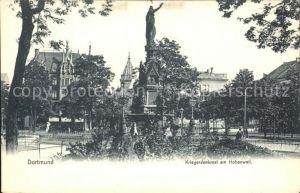 Dortmund Kriegerdenkmal am Hohenwall Kat. Dortmund