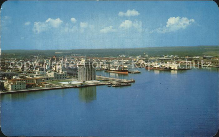 Veracruz Luftaufnahme Hafen Kat. Veracruz