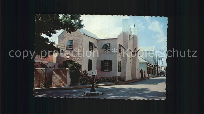 Hamilton Bermuda Old Globe Hotel Kat.