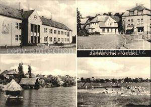 Zarrentin Polytechnische Oberschule Schaalsee Ernst Thaelmann Platz  Kat. Zarrentin Schaalsee