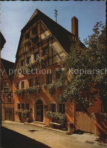 Rothenburg Tauber Hans Karl Adam Hotel  Kat. Rothenburg ob der Tauber