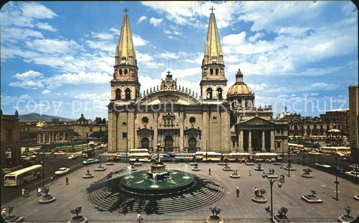 Guadalajara Jalisco Kathedrale Kat Guadalajara Nr Kv22117