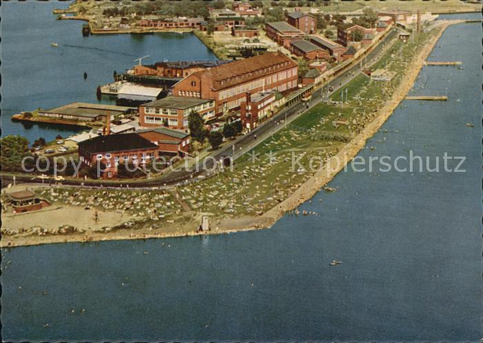 Wilhelmshaven Suedstrand Fliegeraufnahme Kat. Wilhelmshaven