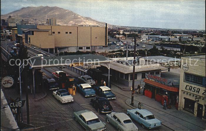 Ciudad Juarez International Hafen Santa FE Kat. Ciudad Juarez