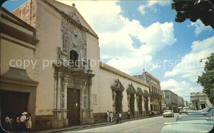 Merida Yucatan La Casa de los Montejos Plaza Principal Kat. Merida