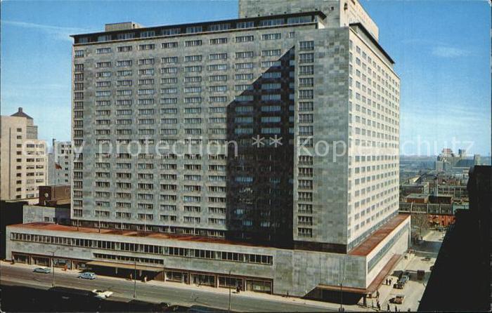 Montreal Quebec Hotel Queen Elizabeth Kat. Montreal