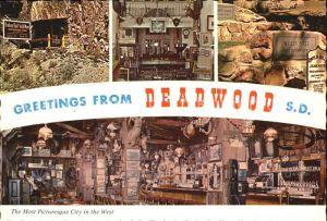 Deadwood South Dakota Most Picturesque City  Kat. Deadwood