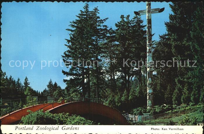 Portland Oregon Zoological Gardens Kat. Portland