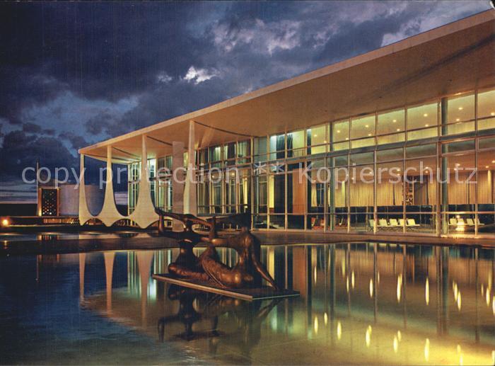Brasilia Palacio Alvorada Kat. Brasilia