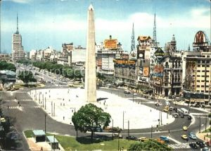 Buenos Aires Plaza de la Republica Obelisk Kat. Buenos Aires