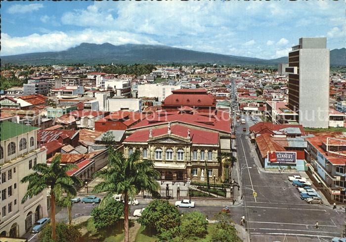 kv22410 San Jose Costa Rica Stadtansicht