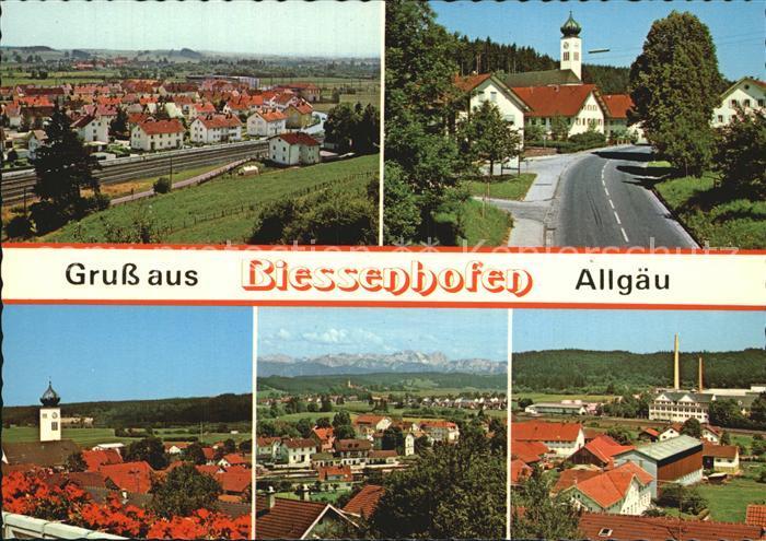 Biessenhofen Ortsansichten Kat. Biessenhofen