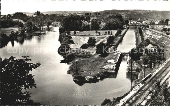 L Isle sur le Doubs Le Doubs Canal Kat. L Isle sur le Doubs