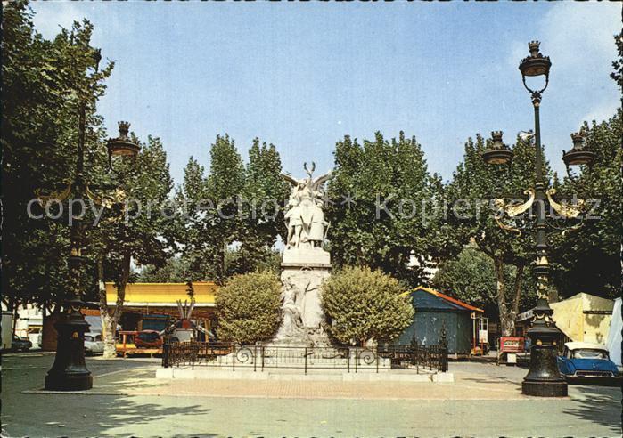 Aubagne Le Monument aux Morts Kat. Aubagne