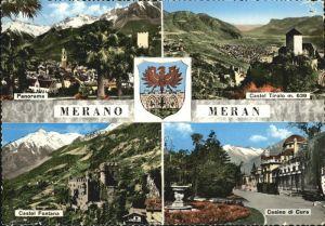 Merano Suedtirol Castel Tirolo Casino di Cura Castel Fontana Kat. Merano