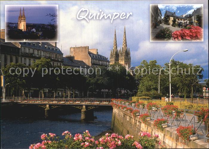 Quimper Brueckenpartie Kat. Quimper