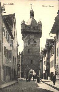 Schlettstadt Neuer Turm Kat. Selestat