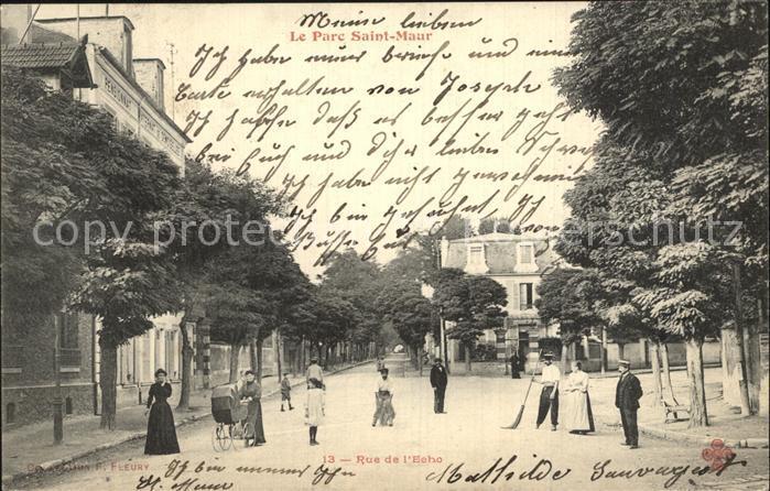 Saint Maur des Fosses Parc Rue de l Echo Kat. Saint Maur des Fosses