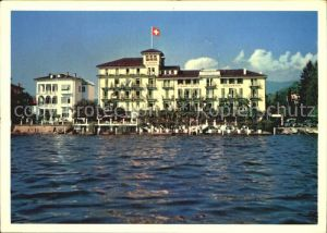 Lugano TI Strandhotel Seegarten Kat. Lugano