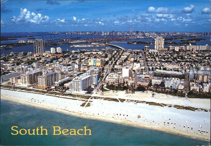 South Beach United States Fliegeraufnahme Kat. South Beach