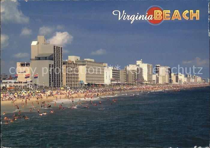 Virginia Beach Strandpartie Kat. Virginia Beach