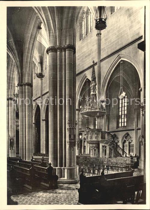 Reutlingen Tuebingen Marienkirche