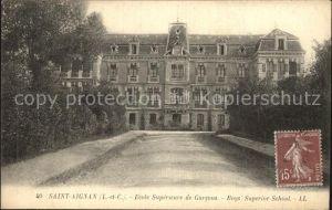 Saint Aignan Loir et Cher Ecole Superieure de Garcons Kat. Saint Aignan