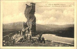 Belfort Alsace La Siege de Belfort pendant l occupation Kat. Belfort