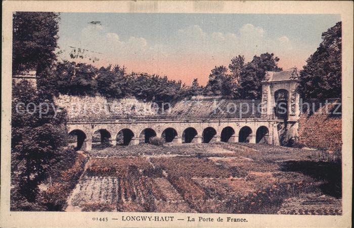 Longwy Lothringen La Porte de France
