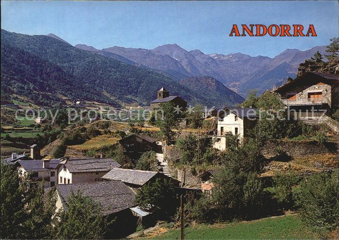 Andorra La Vella Anyos Kat. Andorra La Vella