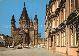 Mainz Rhein Gutenberg Museum und Dom